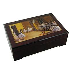 Caja de música para joyas