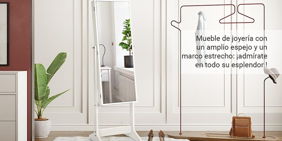 Joyero espejo Songmics